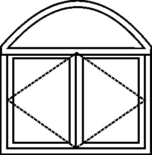 temple window layout