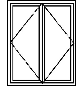 french door-layout