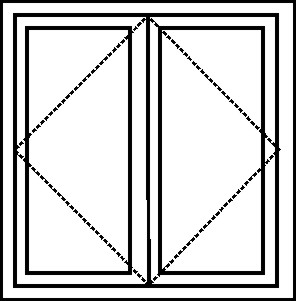 french window layout